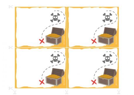 Invitations pour anniversaire à imprimer - Le Conseil des Pirates