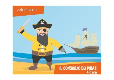 Il consiglio dei pirati - 4-5 anni