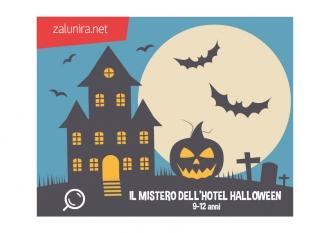 Il mistero dell'hotel Halloween - 9-12 anni